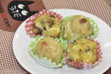サツマイモのマヨ焼き&チーズ焼き